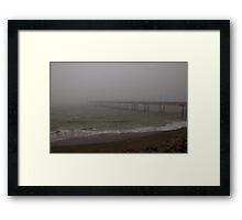Fog City Pier 1 Framed Print