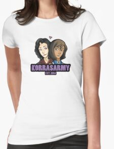Korrasarmy EST. 2014 Womens Fitted T-Shirt