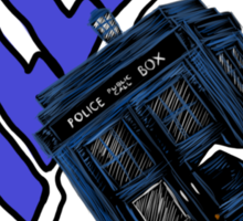 """""""Allons-Y!"""" - 10th Doctor Sticker"""