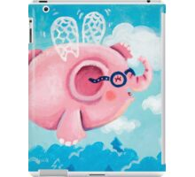Elephant Out Of A Fly - Rondy the Elephant can fly iPad Case/Skin