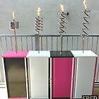 Copper and Chrome Slinki Tiki Torch - FredPereiraStudios.com_Page_10 by Fred Pereira