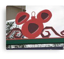 Mickey Ornament Canvas Print