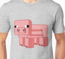 Minecraf pig  Unisex T-Shirt