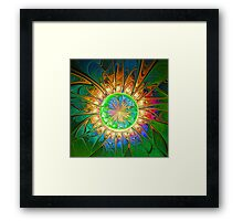 Amazon Rain Framed Print