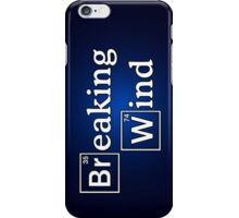 Breaking wind iPhone Case/Skin