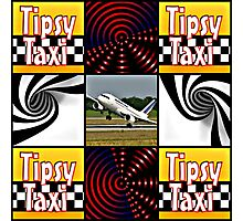tipsy taxi Photographic Print