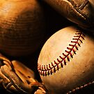 Baseball Still Life by printscapes