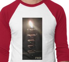 Copper and Chrome Slinki Tiki Torch - FredPereiraStudios.com_Page_26 Men's Baseball ¾ T-Shirt