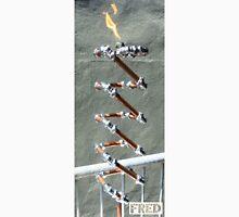 Copper and Chrome Slinki Tiki Torch - FredPereiraStudios.com_Page_27 Men's Baseball ¾ T-Shirt