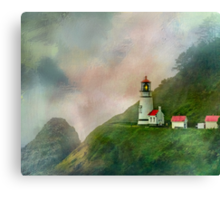 Heceta Head Lighthouse Florence Oregon Canvas Print