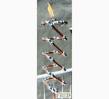 Copper and Chrome Slinki Tiki Torch - FredPereiraStudios.com_Page_29 Men's Baseball ¾ T-Shirt