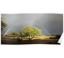 The Rain and The Rainbow Poster
