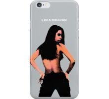 1 In A Million Prt II Silver iPhone Case/Skin