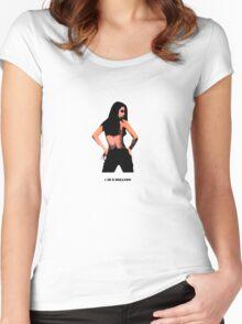 1 In A Million Prt II Silver Women's Fitted Scoop T-Shirt