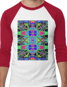 Patterns 7 - Pipe Cleaners Men's Baseball ¾ T-Shirt