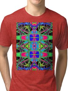 Patterns 7 - Pipe Cleaners Tri-blend T-Shirt
