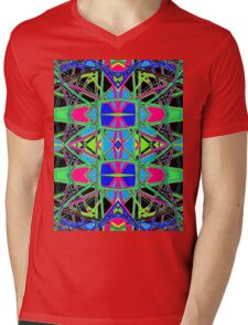Patterns 7 - Pipe Cleaners Mens V-Neck T-Shirt