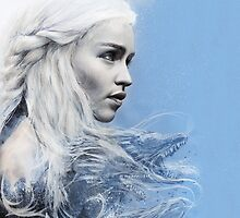 Daenerys: Game of Thrones iPhone Case  by chickenhead