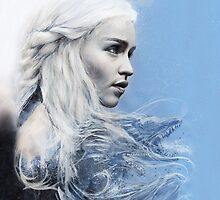 Daenerys: Game of Thrones iPad Case  by chickenhead