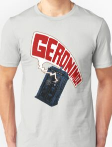 """Geronimo!"" The 11th Doctor T-Shirt"
