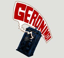 """Geronimo!"" The 11th Doctor Unisex T-Shirt"