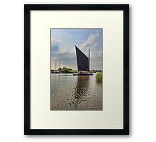 Albion on the River Thurne Framed Print