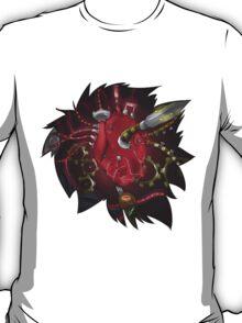 Modded Heart T-Shirt & Stickers T-Shirt