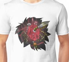 Modded Heart T-Shirt & Stickers Unisex T-Shirt