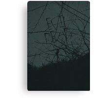 Evil Dead minimalist movie poster Canvas Print