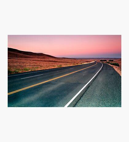 Sunset Drive Photographic Print
