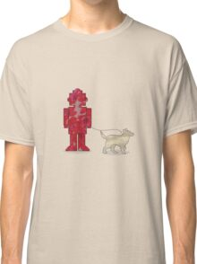 One Robot & His Dog Classic T-Shirt