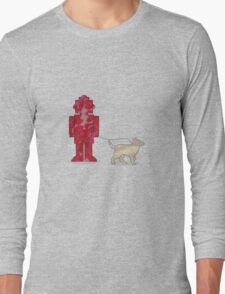 One Robot & His Dog Long Sleeve T-Shirt