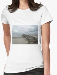 Divided By Rocks Womens Fitted T-Shirt