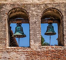 Mission Bells at San Juan Capistrano by Celeste Mookherjee