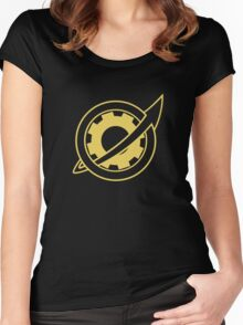 Future Gadget Lab Women's Fitted Scoop T-Shirt