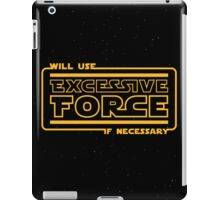 Excessive Force iPad Case/Skin