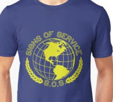 The Globe. (Yellow) Unisex T-Shirt