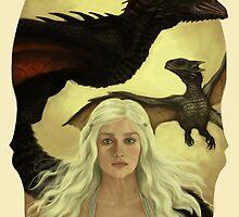 Daenerys by miriamuk