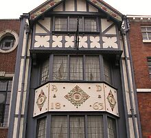 1863 Window in Shrewsbury by lezvee