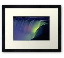 Niagara Falls at Twilight  Framed Print