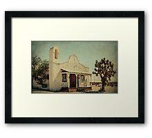 The Sanctuary Adventist Church a.k.a The Kill Bill Church Framed Print