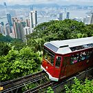 Victoria Peak, Hong Kong by printscapes