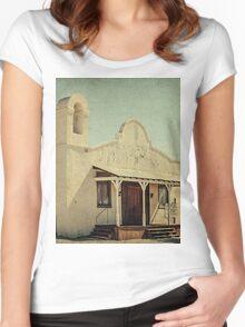 The Sanctuary Adventist Church a.k.a The Kill Bill Church Women's Fitted Scoop T-Shirt