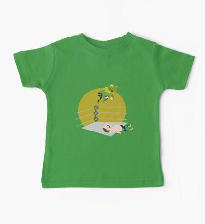 Kermit the Frogsplash Baby Tee
