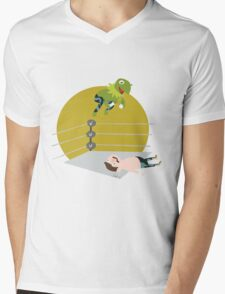Kermit the Frogsplash Mens V-Neck T-Shirt