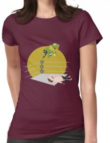 Kermit the Frogsplash Womens Fitted T-Shirt