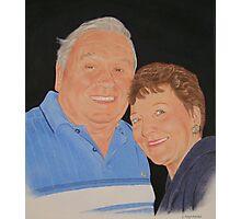 The happy couple.. Photographic Print