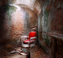 Barber - Eastern State Penitentiary - Remembering my last haircut  by Mike  Savad