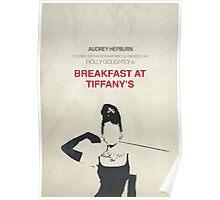 Breakfast at Tiffany's minimalist poster Poster