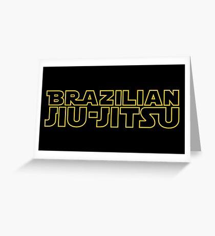Brazilian Jiu-Jitsu Greeting Card